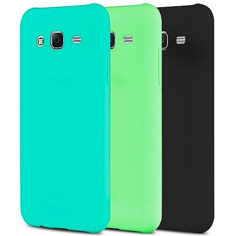 Anfire 3X Funda para Samsung Galaxy J5, Carcasa Silicona Gel TPU Ultra Delgado Suave Mate Goma Protectora Caso Flexible Caja Ligero Case Cover Anti ...