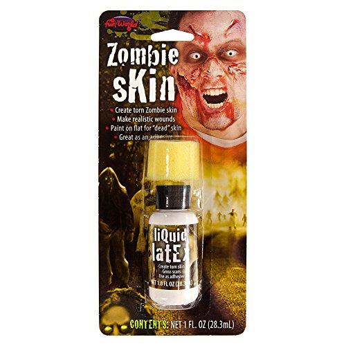 Fancy Dress Fake Zombie Skin Liquid Latex