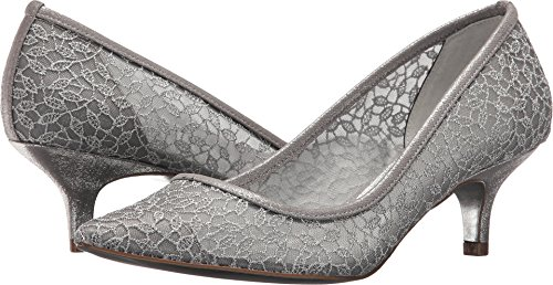 Lace Valencia Adrianna Toile Lois Talons Papell Silver gffq7PYZ