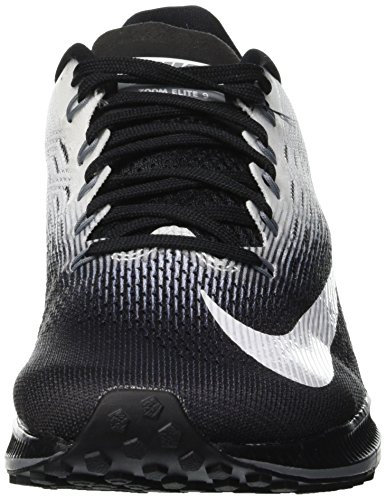 Black Zapatillas de 001 Cool Zoom Grey White Trail para 9 Wmns Running Nike Mujer Air Elite Negro q7H7XR