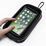 YYDSJFM Motorcycle Magnetic Tank Bag,Phone Pouch Case with 7 Strong Magnets Touch Screen Waterproof for Cell P
