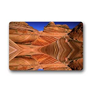 Beautiful Grand Canyon Machine Washable Top Fabric & Non-Slip Rubber Backing Doormats Door Mat 23.6 x 15.7 Inch