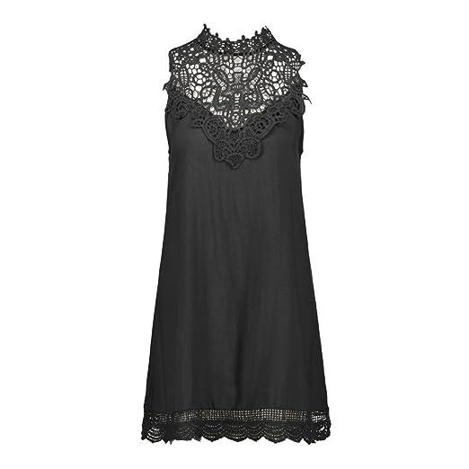 Vestido Para Mujer,BBestseller Vestido mujer sin mangas Hollow bodycon mini vestido de fiesta de