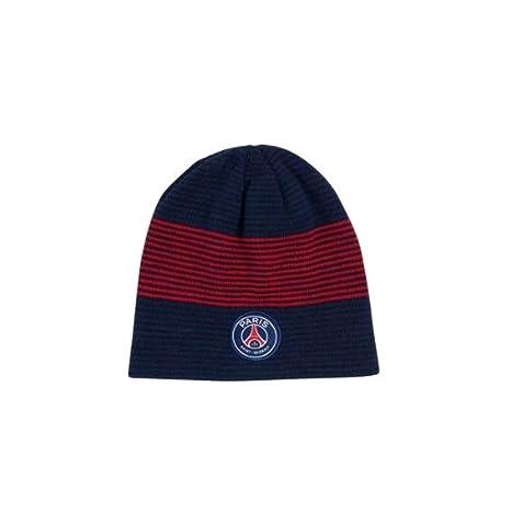 da8ffe8c Image Unavailable. Image not available for. Color: Paris Saint Germain (PSG  - Striped Beanie ...