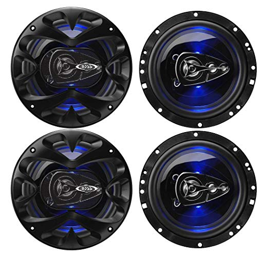 Boss BE654 Rage 6.5-Inch 4-Way 300W Full Range Speakers (4 Pack) (300w Full Range)