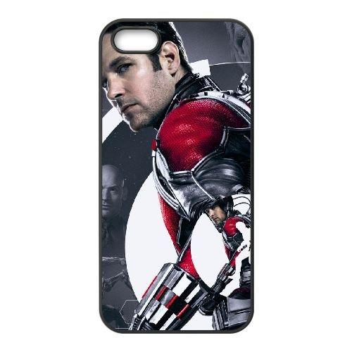 Ant Man Movie Wide coque iPhone 5 5S cellulaire cas coque de téléphone cas téléphone cellulaire noir couvercle EOKXLLNCD21687