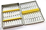 PREMIUM GERMAN DENTAL SURGICAL AUTOCLAVE STERILIZATION CASSETTES BOX RACK FOR 10 INSTRUMENTS-CYNAMED BRANDED