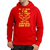 N4693H Hoodie The rider and the angel art motorcycle apparel