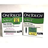One Touch Select Blood Sugar Test Strips 50 Counts + 10 Counts Free- Expiry 10/2018