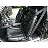 Eckler's Premier Quality Products 75260099 Firebird 3Point Retractable Shoulder Harness/Seat Belt Kit Morris Classic Concepts