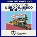 Il giro del mondo in 80 giorni Hörbuch von Jules Verne Gesprochen von: Massimo D'Onofrio