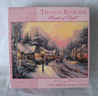 Thomas B079MBVSMS Kinkade村クリスマス1000ピースジグソーパズル B079MBVSMS, 猫雑貨の店 NYAGOとアニマル雑貨店:d38473a9 --- ero-shop-kupidon.ru