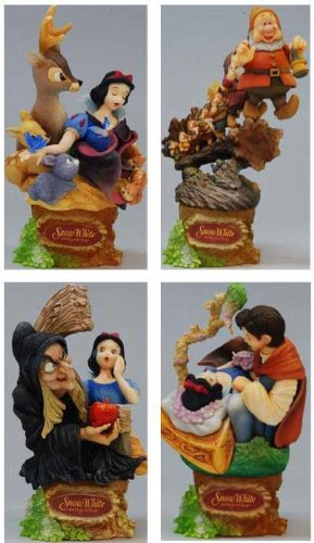 Disney Char Form Arts Snow White Set
