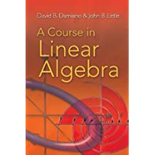 By David B. Damiano - A Course in Linear Algebra (Dover Books on Mathematics)
