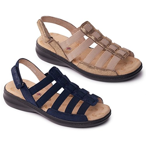 Padders sandalia de cuero de las mujeres 'Clara' 3tkZo