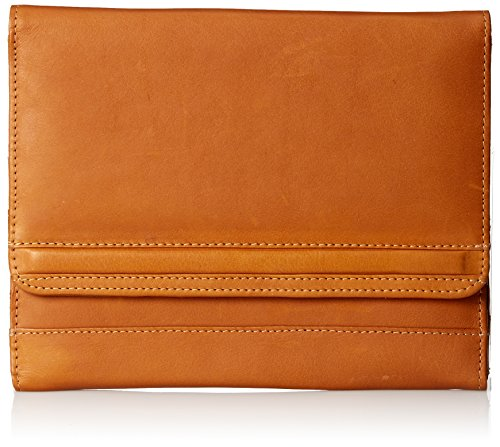 Piel Leather iPad Air Envelope Case Stand, Saddle, One Size
