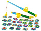 Lakeshore Catch a Letter Magnetic Fishing Game