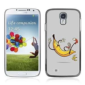 Designer Depo Hard Protection Case for Samsung Galaxy S4 / Banana Slip
