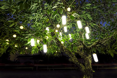 Set Solar Hanging Light (Hanging Solar Garden Tree Light - Waterproof Solar Lights, Solar Tree Lighting - SET OF TWO (2) Lights)