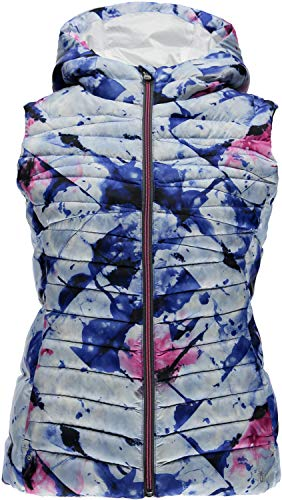 Spyder Women's Timeless Down Vest, Medium, Frozen Bling Print/Bling ()