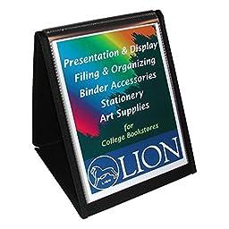 Lion Flip-N-Tell Display Easel Book - Letter - 8.5\