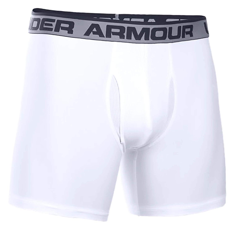 Under Armour Mens HeatGear 6 Boxerjock 2 Pack Under Armour Performance Apparel Mens 1238137-P