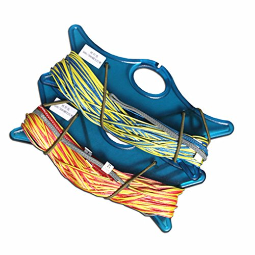 Qunlon 397lb/220lb 65.6ft Dyneema Quad Kite Line Set for Quad Line Power Traction Kite Control Flying