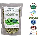ORGANIC GREEN COFFEE Beans ~ DECAFFEINATED GREEN COFFEE BEAN 500 GM FOR WEIGHT LOSS by Perennial Lifesciences ( Single Half Kg Pack) for Weight management and appetite suppressesant