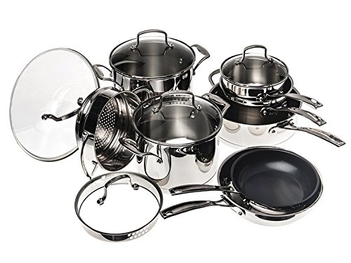 Cuisinart Classic Induction Stainless Cookware Set (13-Piece)
