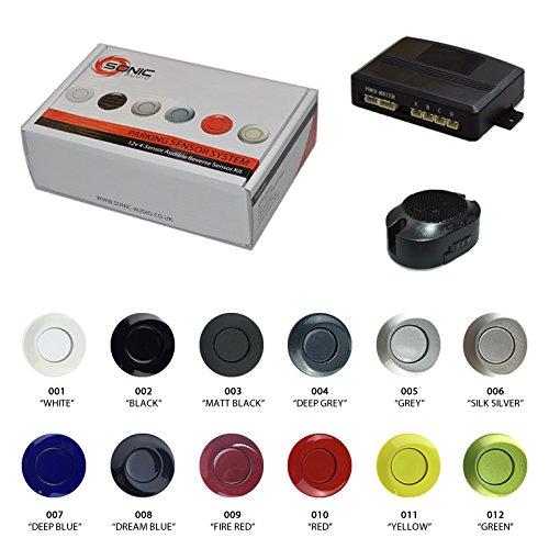 17 opinioni per Sonic audio VS-4–Kit sensore di parcheggio e retromarcia con cicalino di
