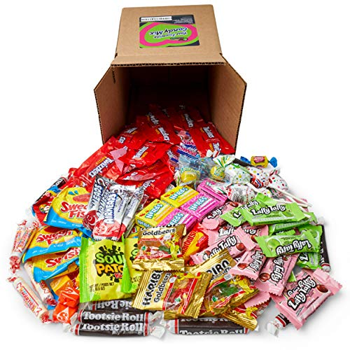Your Favorite Candy Mix - 3 Pounds of Gummy Bears, Skittles, Sour Patch, Swedish Fish, Starburst, Airheads, & More by Snackadilly (3)