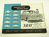 1959 59 AMC Rambler X-RAY BROCHURE Ford Volvo Fiat Lark