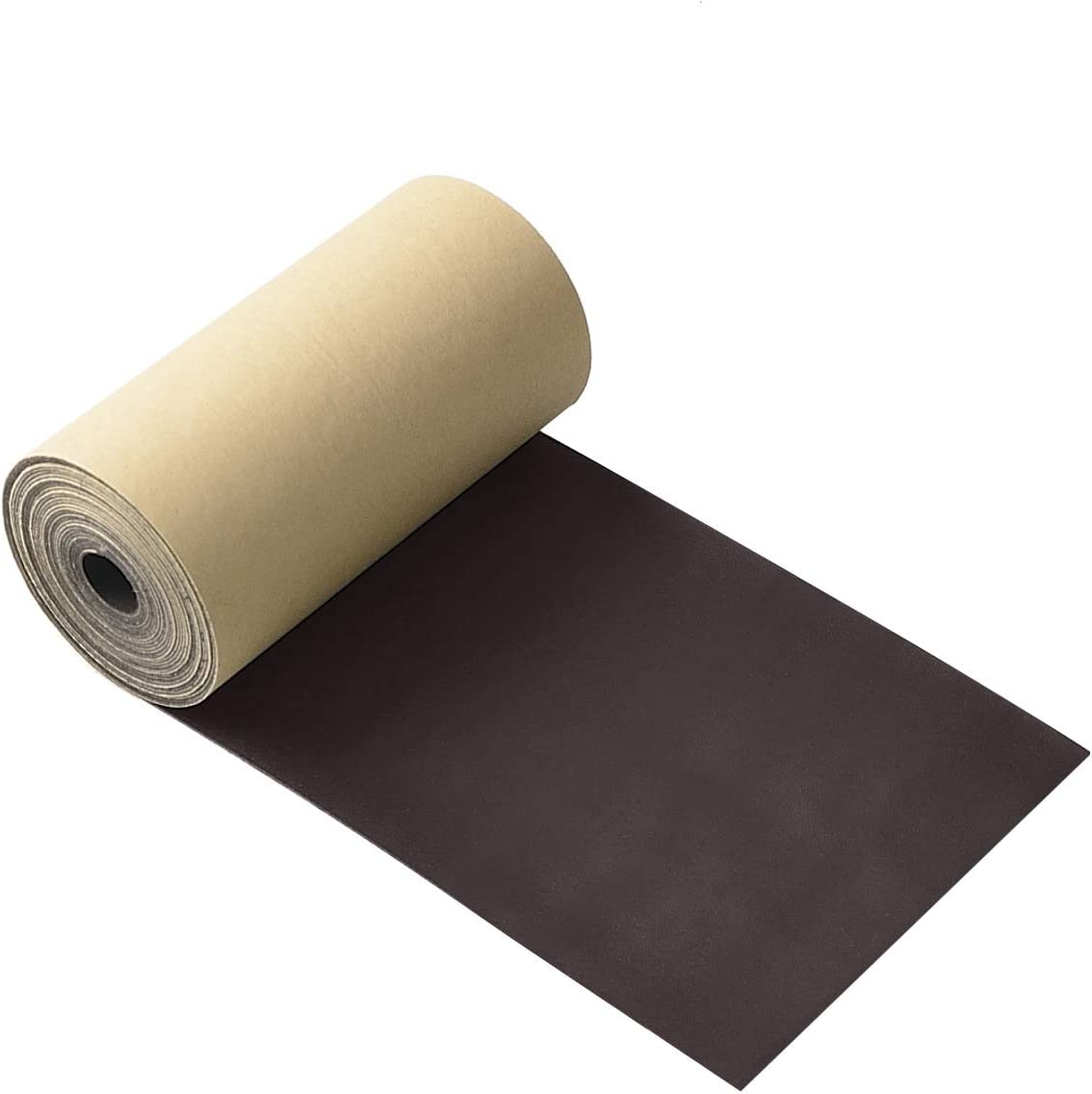 Leather Repair Tape 6X120 Inch Self-Adhesive Leather Repair Patch for Sofas, Couch, Furniture, Drivers Handbags, Jackets, Dark Brown