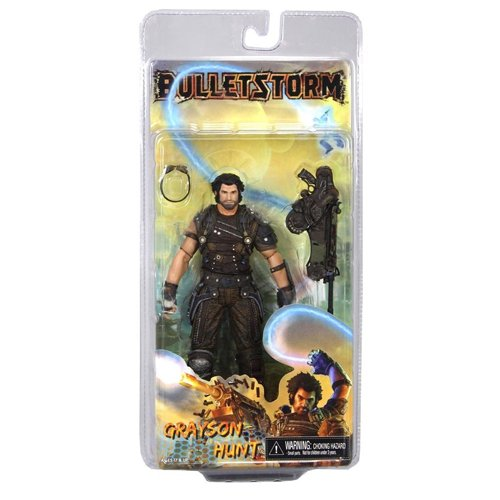 "NECA Bulletstorm ""Grayson Hunt"" 7"" Action Figure 1"