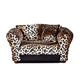 Keet Mini Sofa Leopard Pet Bed