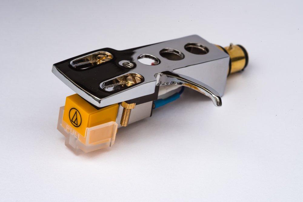 Mirror Chrome plated Headshell, mount, cartridge and stylus, needle for Numark TT100. TT200, TT500, TT1510, TT1529, TT1550, TT1520, TT1600, TT1610, TT1625, TT1650, TT1700, TT1910, - MADE IN ENGLAND AudioOrigin