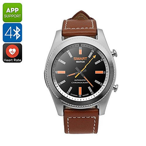 Smartwatch Bluetooth No. 1 S9 podómetro Pulsómetro 380 mAh Silver ...