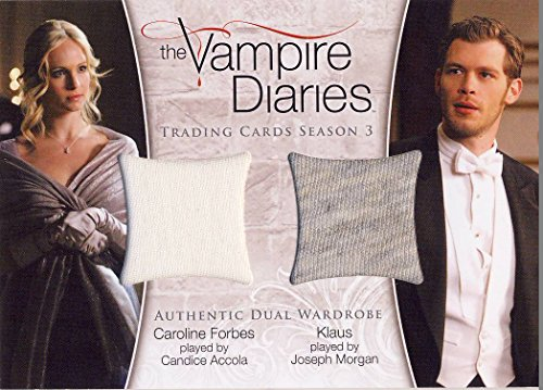Rebekah Diaries Vampire Costume (Vampire Diaries Season 3 Three Dual Wardrobe Relic Card DM-02 Rebekah and)