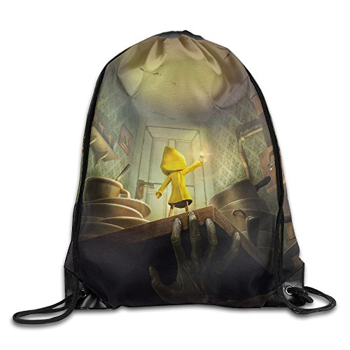 Diablo Style Little Nightmares Six Drawstring Backpack Sack Bag