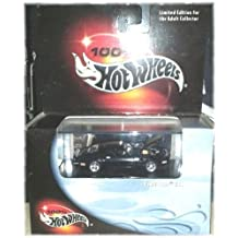 100% Hot Wheels - Limited Edition Cool Collectibles - Firebird T/A - 1:64 Scale Classic Collector Car Replica Mounted in Collector Display Case. Black Body Color