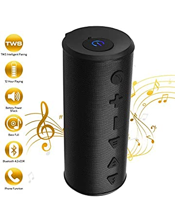 Bluetooth Speakers, Portable Wireless Speaker with Bluetooth (TWS), 20W Big Migicbox Stereo