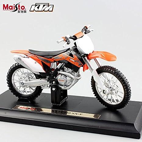 Buy 450 Sxf 1 18 Scale Maisto Kids Motorcycle Ktm 450 Exc Rally Sx