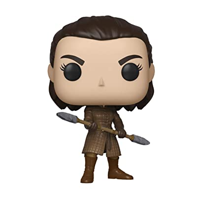 Funko Pop! TV: Game of Thrones - Arya with Two Headed Spear, Multicolor: Toys & Games