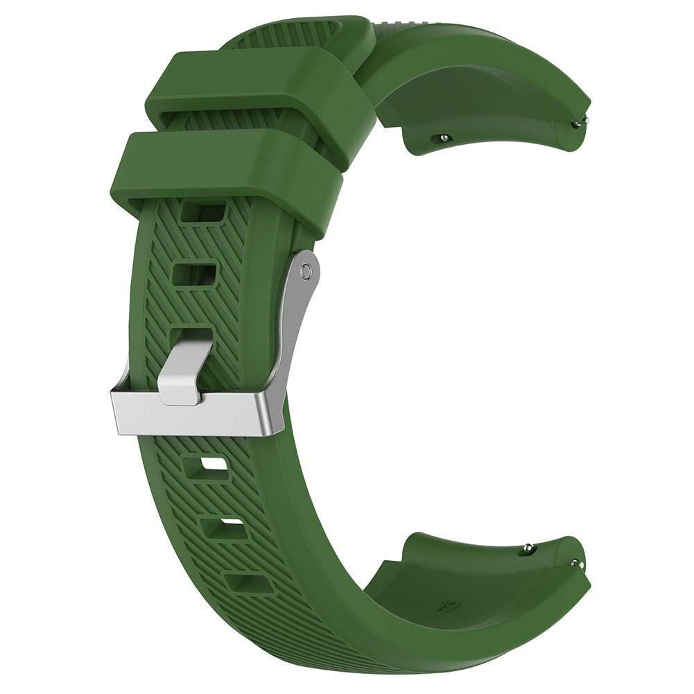 0ab9ead1c40 Auroru Nouveaux bracelets universels Solid Color 2 Génération 1 Génération  Bracelet en silicone Bracelet de remplacement ...