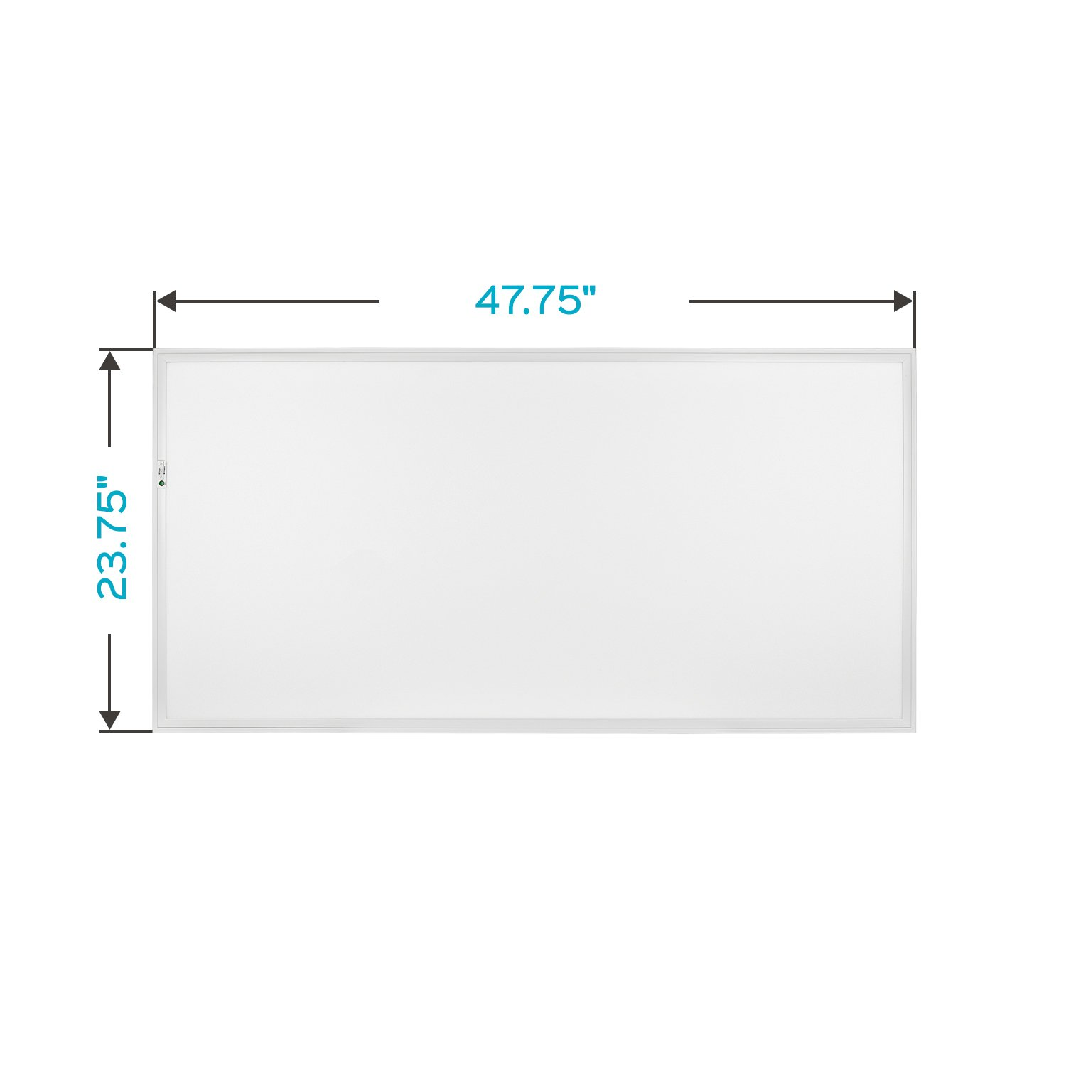 Luxrite 2x4 LED Flat Panel Light with Emergency Battery Backup, 60W 3500K Natural White, 0-10V Dimmable, 6630 Lumens, LED Drop Ceiling Lights, 100-277V, DLC and UL Listed, Ultra Thin Edge-Lit by LUXRITE (Image #5)