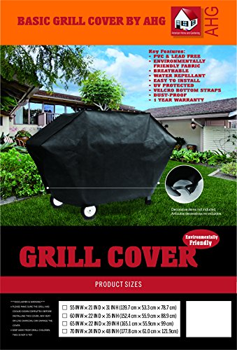 American Home and Gardening Basic BBQ Grill Cover - 60