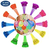 MAOXIAN Water Balloons for Kids Girls Boys Balloons Set Party Games Quick Fill Water Balloons (444 Pack) Swimming Pool Outdoor Summer Fun