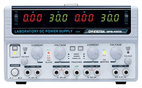 Instek Power Supply Quad Output Digital 30V/3A GPS-4303