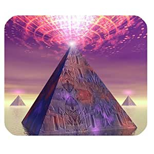 Mysterious Pyramid and Magic Personalized Rectangle Mouse Pad