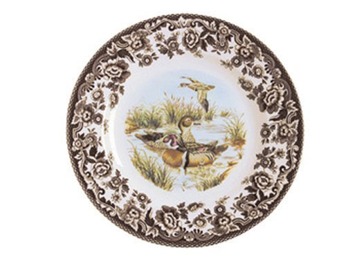 Spode Woodland Wood Duck Salad Plate by Spode